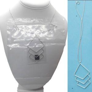Silpada Sterling Silver Diamondback Necklace  NEW